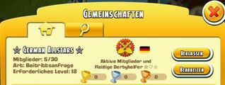 German Allstars